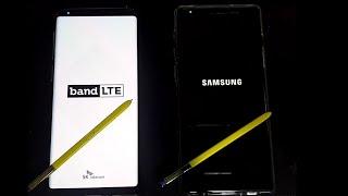 갤럭시 노트9 512GB 부팅영상 (SKT, 자급제)