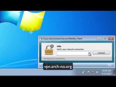 RSA/Cisco AnyConnect Setup