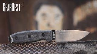 Крепкий, удобный, дешевый - нож CIMA-1 (клон ESEE-3) | Розыгрыш $50 и ножа | GearBest 11.11