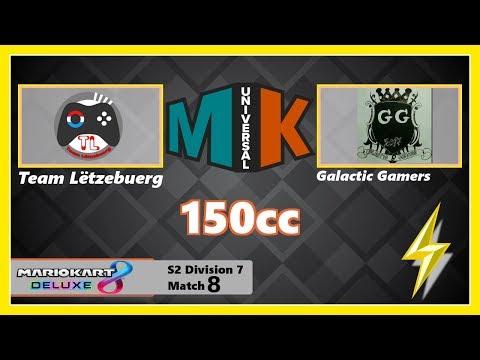 [Mario Kart 8 Deluxe] MKU - Season 2 -  Division 7 - Team Luxembourg vs. Galactic Gamers 97#