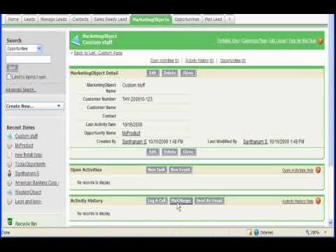 salesforce Mail Merge Demo - YouTube