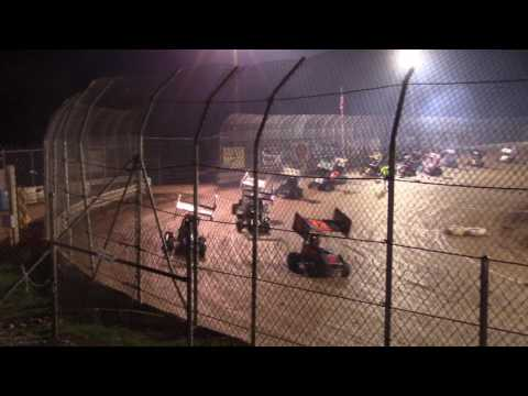 Clyde Martin Memorial Speedway 125cc Feature Race 4-29-17