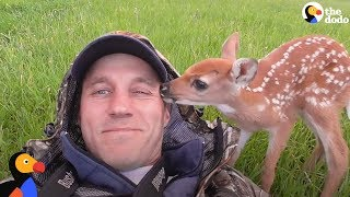 Abandoned Baby Deer Rescued And Rehabilitated by Hero | The Dodo Heroes thumbnail