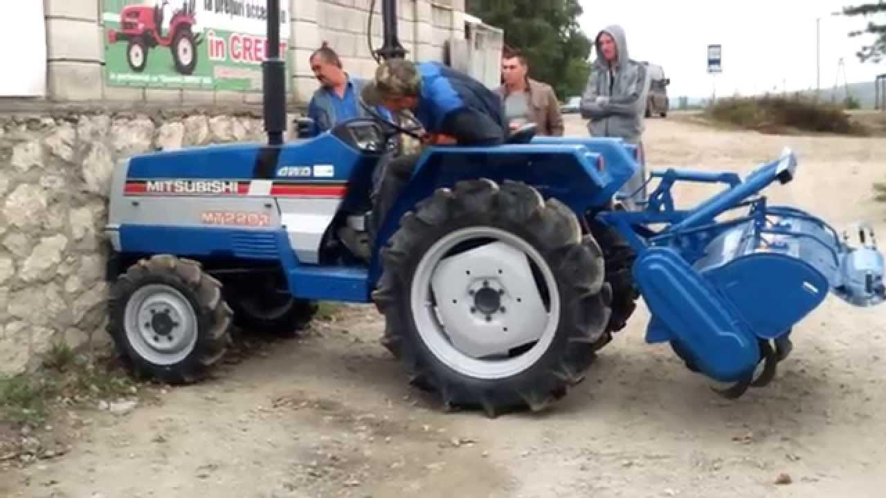 Mitsubishi Tractor Mt2201 Parts : Tractor compact japonez mitsubishi mt youtube