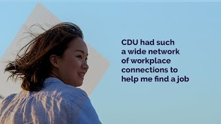 #YoumakeCDU - May's reasons for studying at CDU