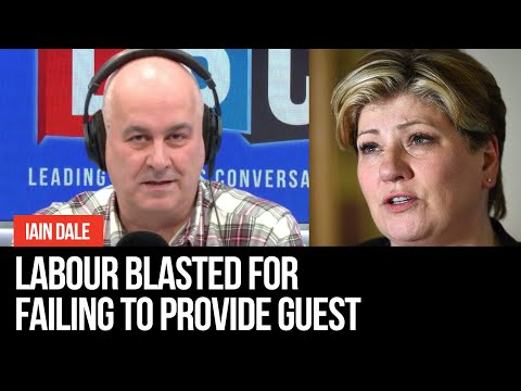 """""""Like Getting Blood Out Of A Stone"""": Furious Iain Dale Blasts Labour For Failing To Provide Guest"""