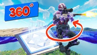 САМЫЙ ЭПИЧНЫЙ КИЛЛ С БАТУТА! *360* NOSCOPE MLG [Fortnite Battle Royale]