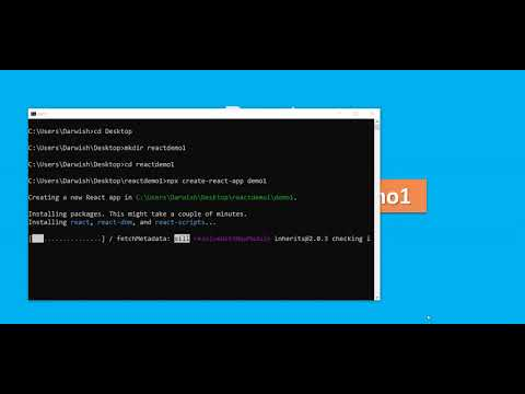 Create your first react project within 10 Mins