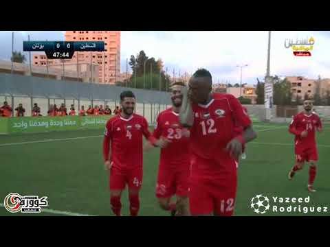 أهداف فلسطين 10-0 بوتان - تصفيات كأس أمم آسيا 2019