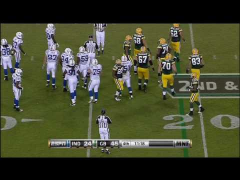Graham Harrell leads Green Bay Drive on The Colts