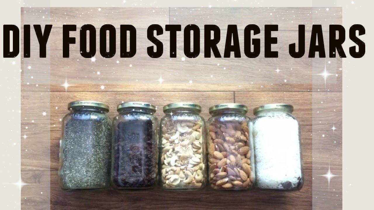 DIY FOOD STORAGE/ORGANIZATION JARS UPCYCLE | FREE TO FRUGAL MINIMALISM