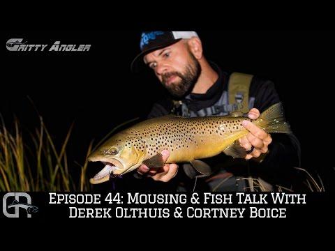 Episode 44: Mousing & Fish Talk with Derek Olthuis & Cortney Boice