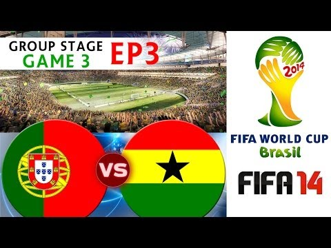[TTB] 2014 FIFA World Cup Brazil - Portugal Vs Ghana - Group Stage Game 3 - EP3