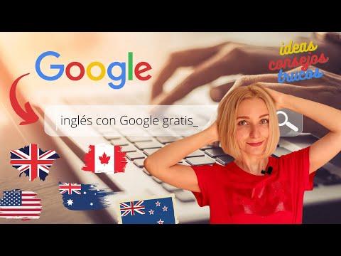 🗽 Cómo aprender inglés con Google GRATIS en casa 🏡 tips, herramientas e ideas ;)