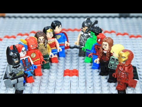 Lego Superhero Champion Ironman vs Batman Final Episode