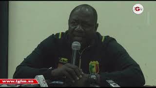 Revivez la conférence de presse du Mali avant d'affronter le Mali