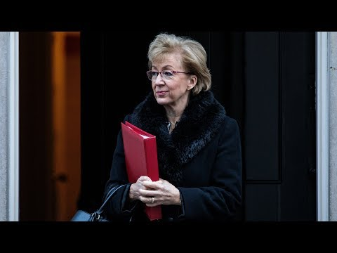 Watch Andrea Leadsom make a major announcement about the Brexit debates