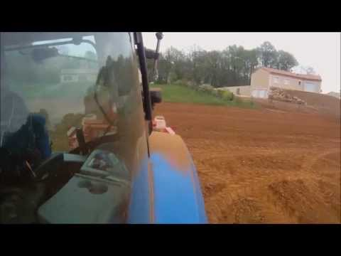 Agri Bowser- Short Film 2014. Claas 410 and 620, New Holland T6050 (France)