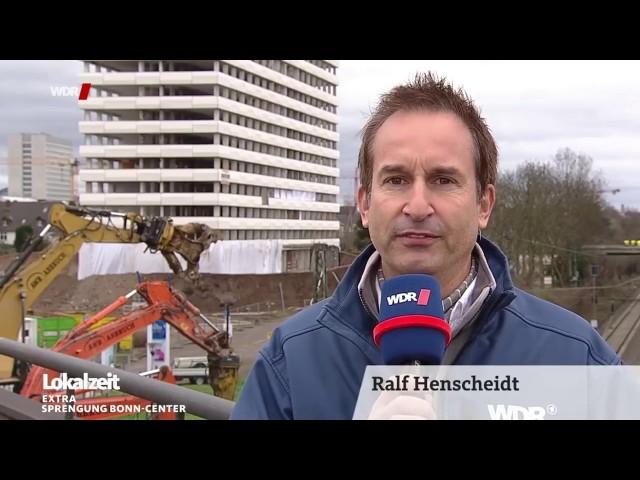 Hochhaus - Sprengung des Bonn Centers (19.3.2017)