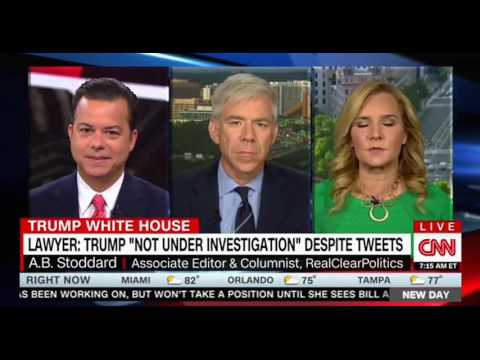 Thumbnail: CNN Panel discussion over Jay Sekulow not under investigation and Trump's Tweet he is being investig