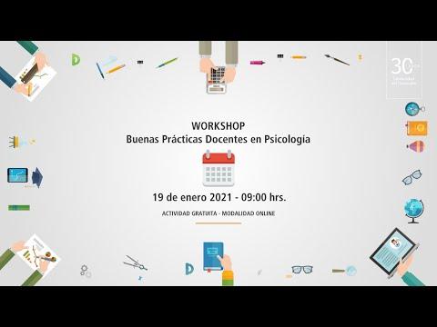 Workshop Buenas Prácticas Docentes en Psicología