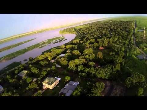 First drone capture of Marromeu, Mozambique
