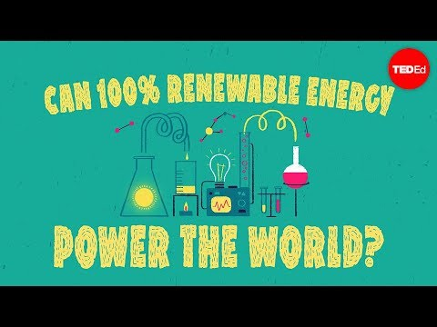 Can 100% renewable energy power the world? - Federico Rosei
