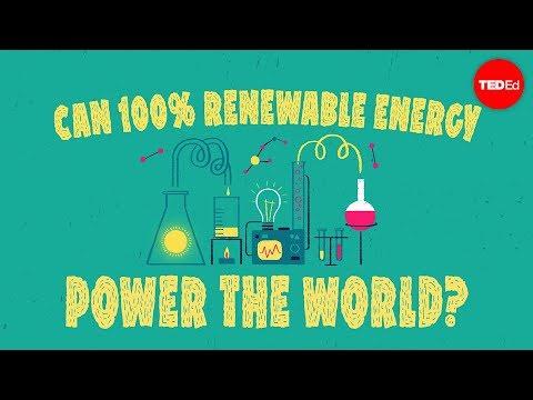 Can 100% renewable energy power the world? - Federico Rosei and Renzo Rosei