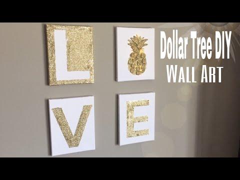 Dollar Tree Wall Art DIY | DIY Bedroom wall decor| DIY office wall decor