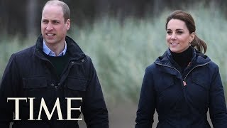 83-Year-Old Woman Seriously Injured In Crash With Prince William And Kate Middleton's Convoy   TIME