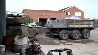 alvis stalwart (stolly) pulling a 55 ton chieftain tank