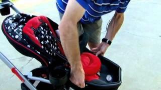 Kolcraft Contours Options 3 Wheel Stroller Demo