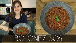 Bolonez Sos nasıl yapılır? | Merlin Mutfakta Yemek Tarifleri