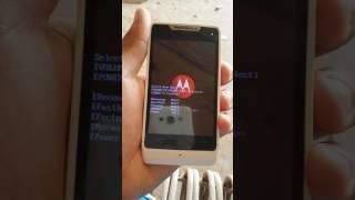 Como resetar\restaurar o Motorola RAZR D1... Método mais fácil e simples.