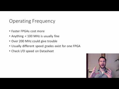 How to Choose an FPGA for your design
