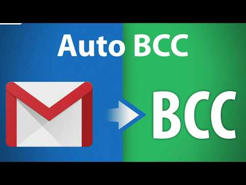FREE: Auto BCC for Gmail