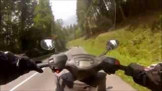 výlet cez Drábsko ( Piaggio X9 250 )