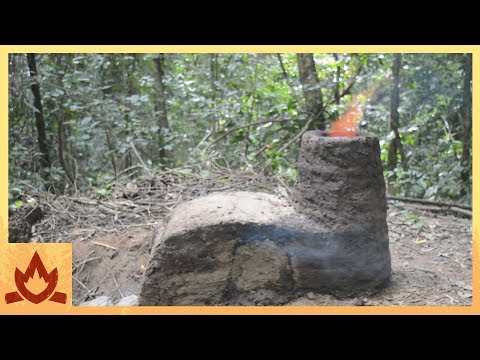 Primitive Technology: Crossdraft kiln