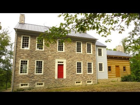 Historic style Stone home and land for sale 205 acres Danville Kentucky KY
