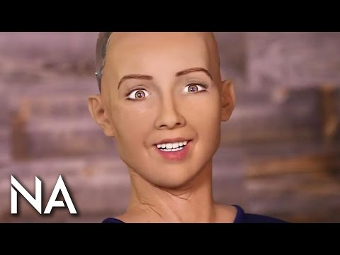 Robot Hits on Charlie Rose in Awkward