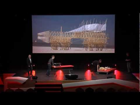 TEDxDelft - Theo Jansen - A new breed of beach animals