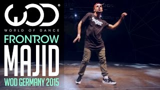 Majid | FRONTROW | Showcase | World of Dance Tour Germany Qualifiers 2015 | #WODGER2015