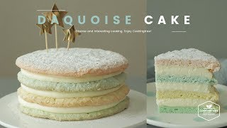 다쿠아즈 케이크 만들기 : Daquoise Cake Recipe - Cooking tree 쿠킹트리*Cooking ASMR