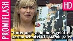 Unter uns-Geheimnis gelüftet: Darum schmiss RTL Marylu raus!