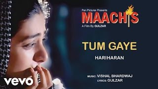 Tum Gaye Male version Best Audio Song - Maachis|Tabu|Chandrachur Singh|Hariharan|Gulzar
