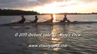 Orchard Lake St. Mary's Crew:  Harmony, Balance and Rhythm