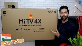 "Mi TV 4X UHD 43"" Smart TV - Unboxing & Hands On 
