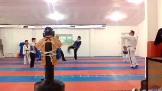Taekwondo. Jhonnatan ali