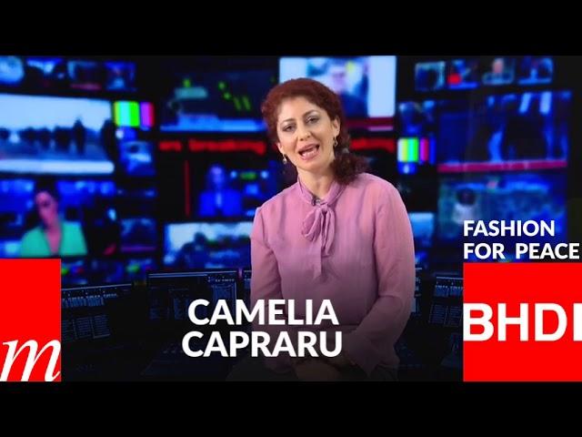 Watch Camelia Capraru's message on Fashion for Peace (Spanish)