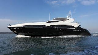 Inside a Super Yacht - Sunseeker